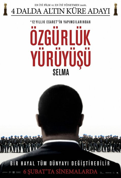 Selma :Özgürlük Yürüyüşü filminden kareler