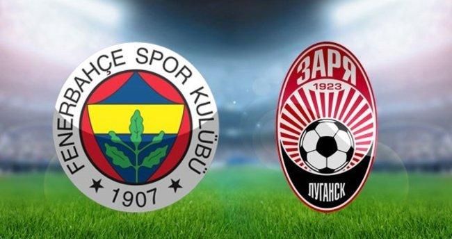 Fenerbahçe - Zorya Luhansk maçını canlı izle! (Şifresiz veren kanallar)