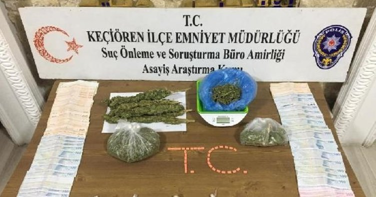 Ankara'da uyuşturucu satıcılarına operasyon