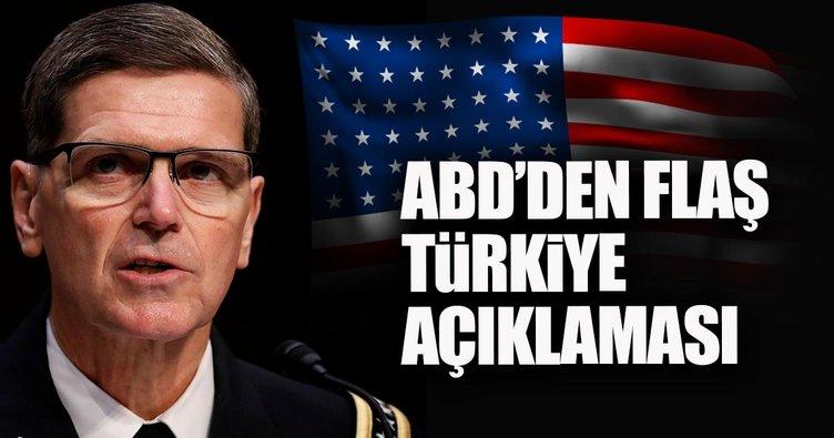 Tansiyon yüksek diyen CENTCOM Komutanı Votel'den Türkiye itirafı