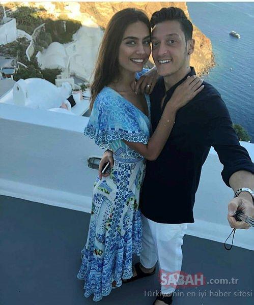 Amine Gülşe ile sevgilisi Mesut Özil evlenecekleri yere karar verdiler!