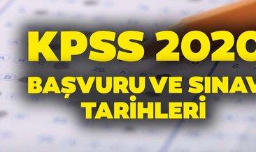 KPSS 2020 ne zaman yapılacak? Ön lisans, lisans, EKPSS, DHBT, ÖABT başvuru ve sınav tarihleri