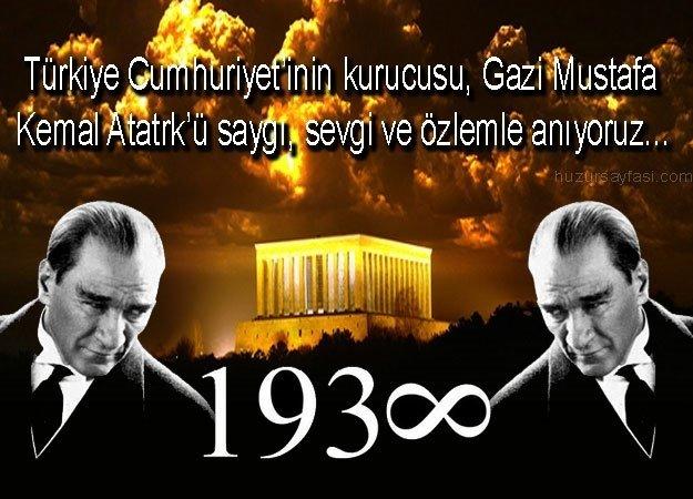 10 Kasım Atatürk'ü Anma Günü şiirleri! 2-4-5 kıtalık kısa ve uzun 10 Kasım şiirleri