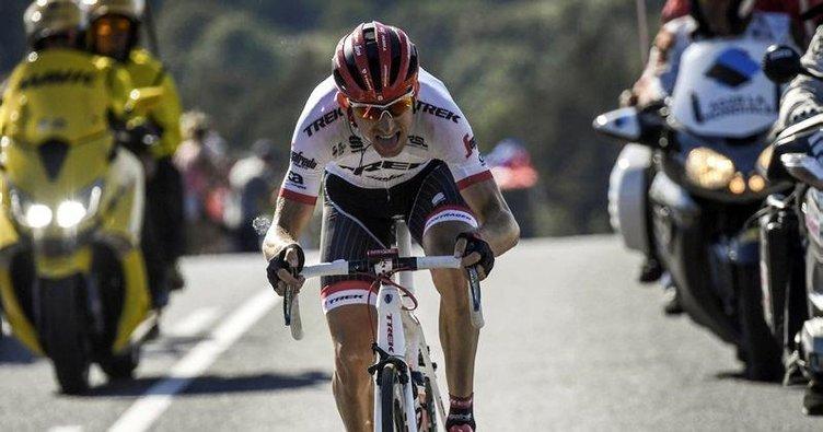 Bauke Mollema ilk etap zaferine pedal çevirdi