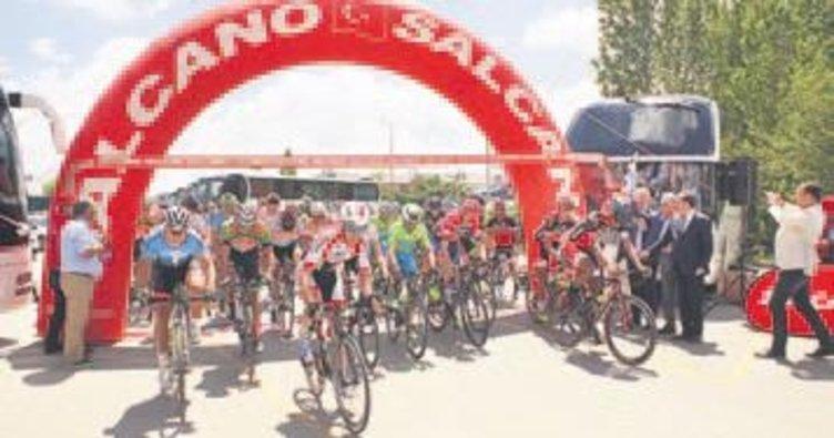 Bisiklet Turu'nda birinci etap bitti