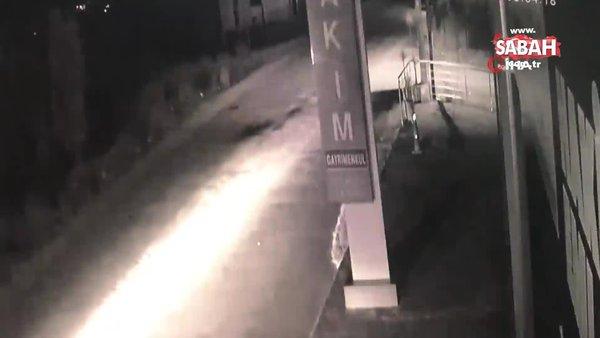 İş yerinden hırsızlık yapanlar önce güvenlik kamerasına, ardından polise yakalandı | Video