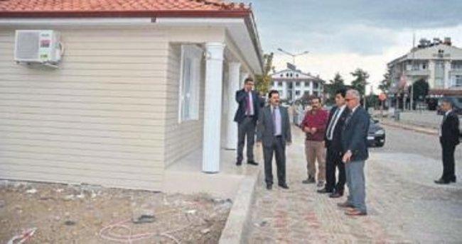 Başkan Gül'den hizmet gezisi
