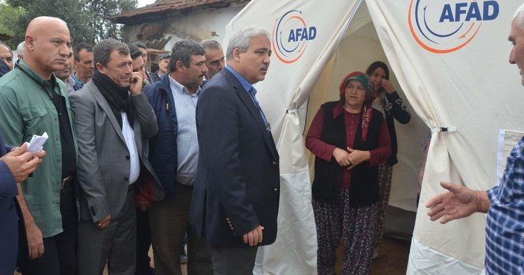 Manisa'da çadır sayısı 180'e yükseldi