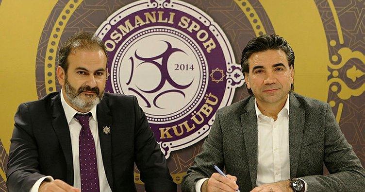 Osman Özköylü, Osmanlıspor ile sözleşme imzaladı