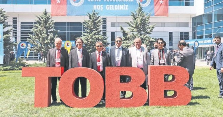 Çerkezköy Ticaret Sanayi Odası, TOBB Genel Kurulu'na katıldı