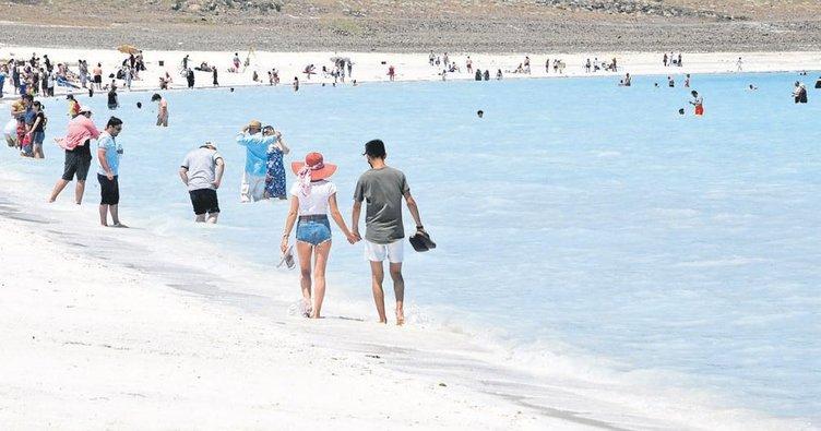 Salda'ya 1 milyon ziyaretçi bekleniyor