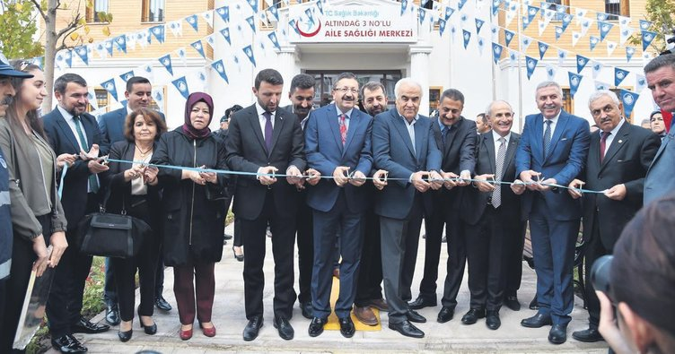 Altındağ'da yatırım maratonu