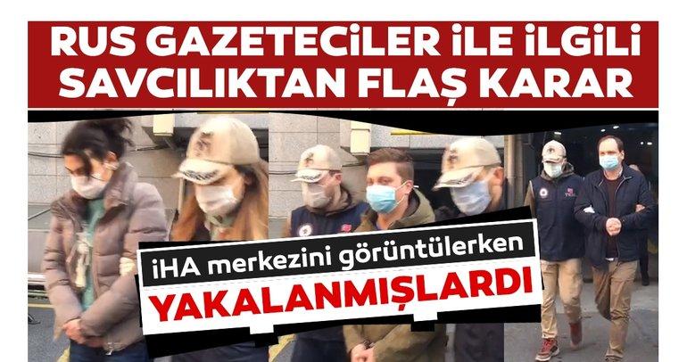 Son dakika: İHA merkezini görüntüleyenRus gazeteciler serbest bırakıldı