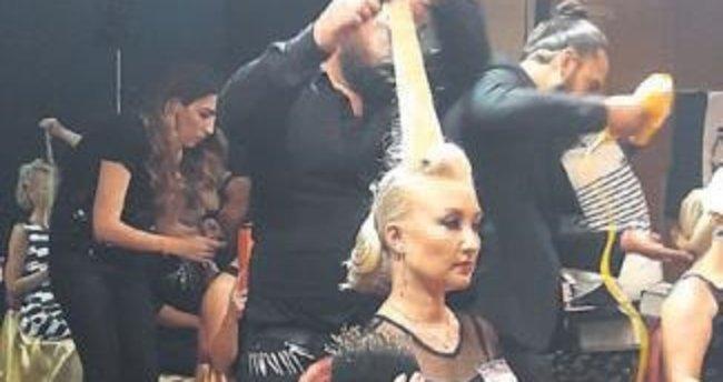 Ankaralı kuaför saç yarışmasında şampiyon oldu