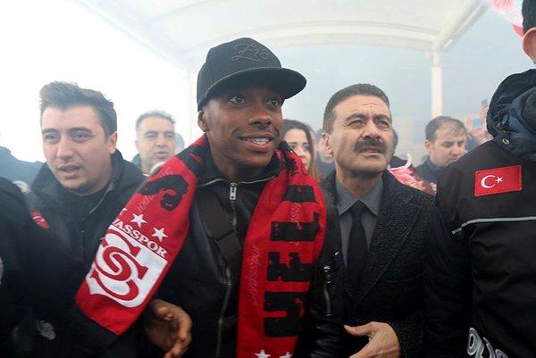 Robinho, Sivas'a geldi