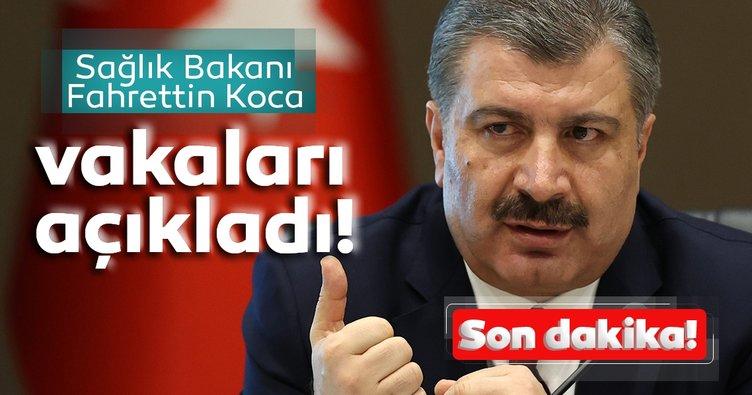 Son Dakika Haberi: Sağlık Bakanı Fahrettin Koca Türkiye'deki son vaka ve vefat sayısını açıkladı