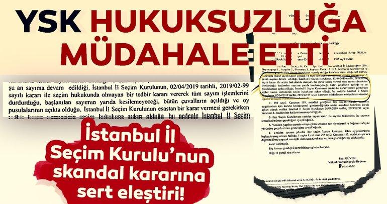 Son dakika haberi: Seçimin ardından oylarda usulsüzlük... YSK sayım durdurma kararını kaldırdı!