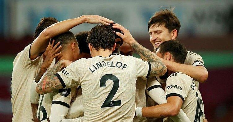 Manchester United Aston Villa deplasmanında rahat kazandı!