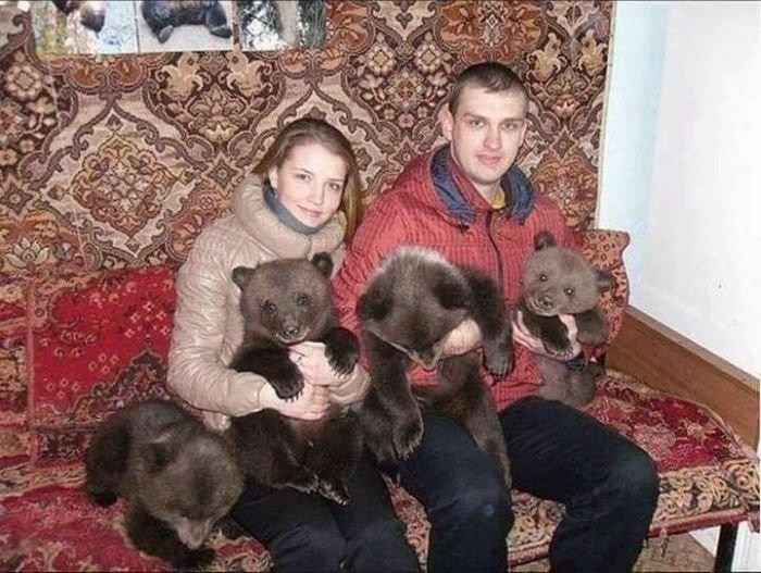 Rusya'dan şaşkına çeviren manzaralar!