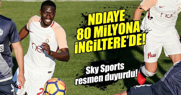 İngilizler duyurdu: Ndiaye, Stoke City'de!