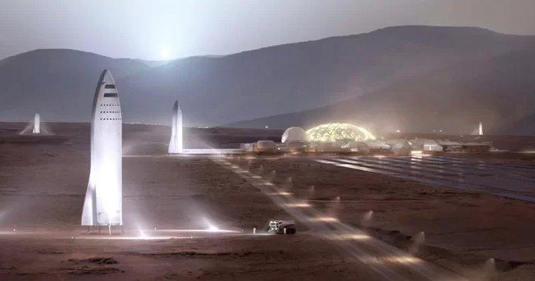 SpaceX, Mars uzay gemisinin testlerine gelecek yıl başlıyor