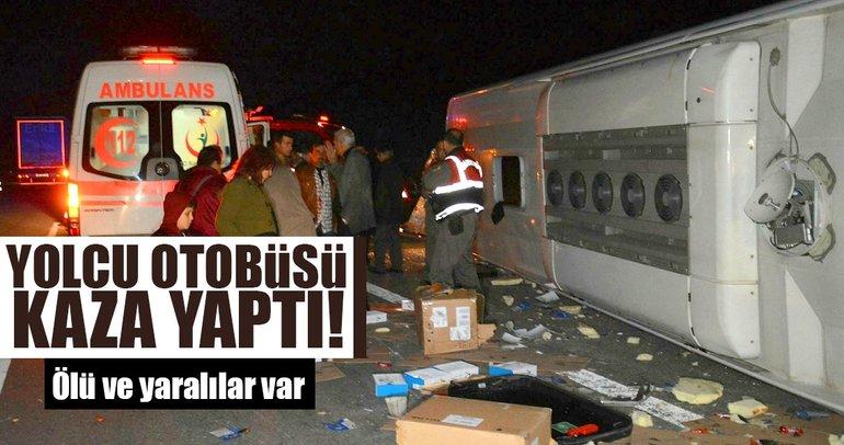 Son dakika: Bursa'da otobüs kazası, ölü ve yaralılar var
