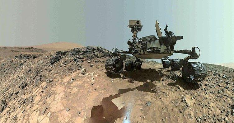Mars'ta heyecanlandıran keşif