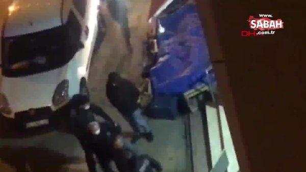 Bursa'da kısıtlamayı ihlal eden kişinin polisten kaçmaya çalıştığı anlar kamerada | Video