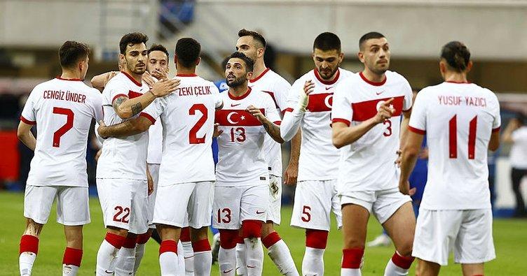 A Milli Futbol Takımı, İtalya karşısında ilk galibiyeti için sahada