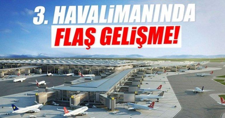 Bakan açıkladı! 3. Havalimanı'na ilk uçak Şubat'ta inecek
