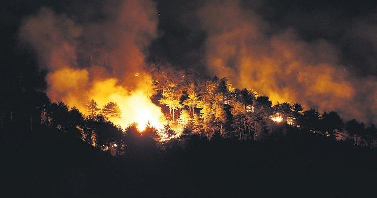 Üç günde ikinci yangın