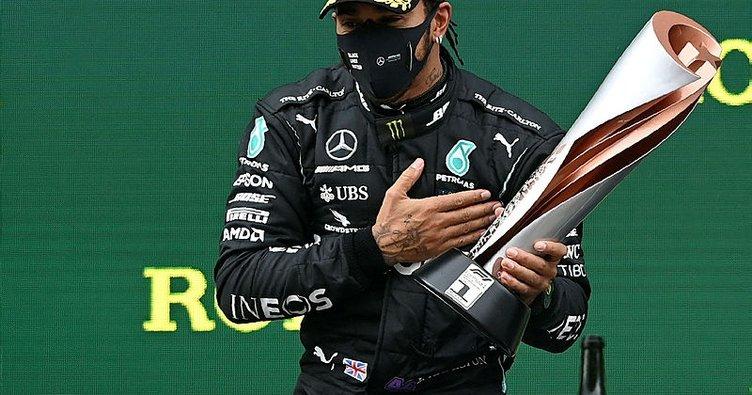 Lewis Hamilton İstanbul'da dünya şampiyonu! Schumacher'in rekorunu egale etti