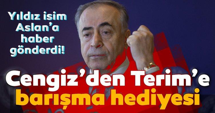 Galatasaray'da Mustafa Cengiz'den Fatih Terim'e barışma hediyesi! Transfer...