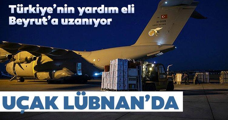 Türkiye'nin yardım eli Beyrut'a uzanıyor
