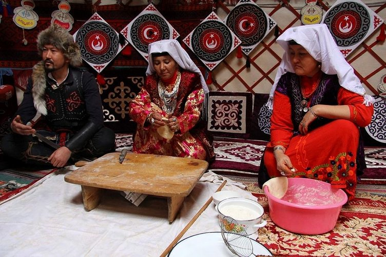 Diriliş Ertuğrul'daki yaşam Ulupamir'de