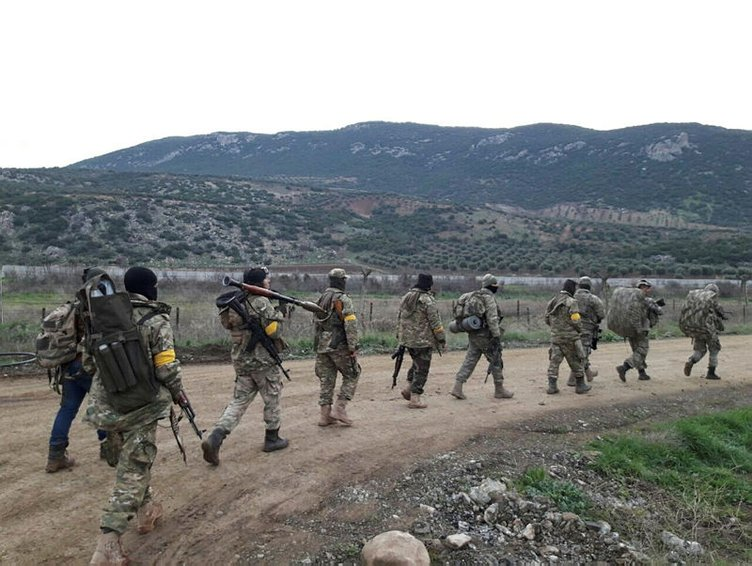 İşte Afrin operasyonundan son kareler!