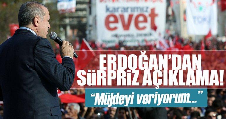 Cumhurbaşkanı Erdoğan'dan Mardin'e müjde!