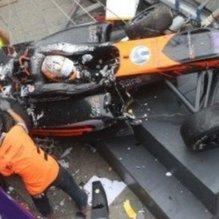 Makau'daki yarışta büyük kaza