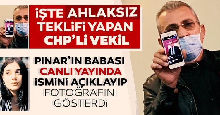 SON DAKİKA: Pınar Gültekin'in babası Sıddık Gültekin 'Davadan vazgeç' diyen CHP'li vekilin ismini açıkladı