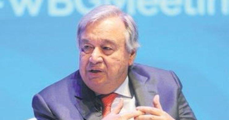 Guterres: Gerçek ortaya çıkarılmalı