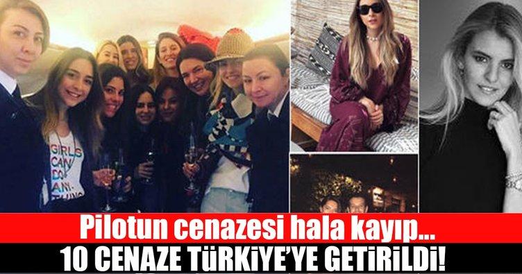 10 cenaze Türkiye'de...
