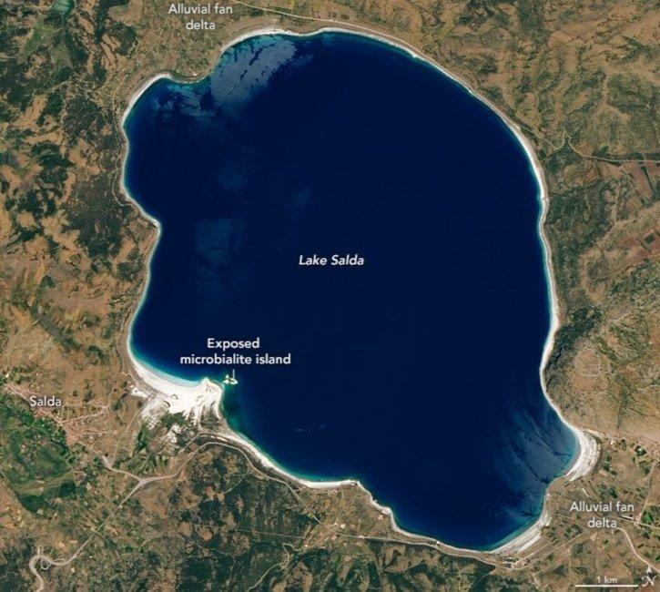 NASA işaret etti duyan akın etti! NASA neden Salda Gölü ile yakından ilgileniyor? İşte detaylar...