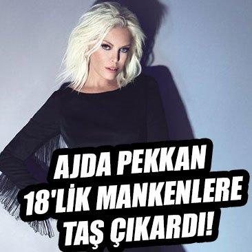 Ajda Pekkan, 18'lik mankenlere taş çıkardı