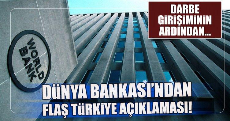 Dünya Bankası Türkiye için büyüme beklentilerini yükseltti