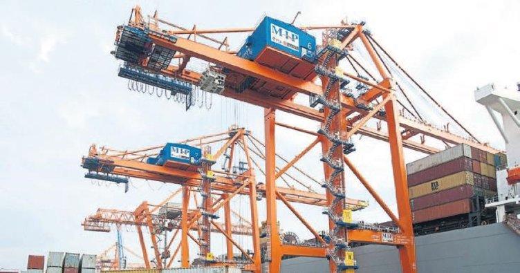Mersin Limanı'na mega gemi geliyor