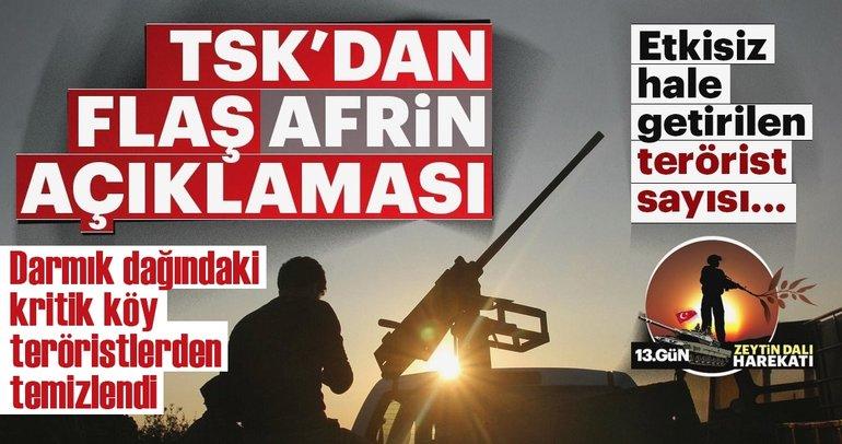 Son Dakika Haberi: Zeytin Dalı Harekatı'nda 13. Gün!