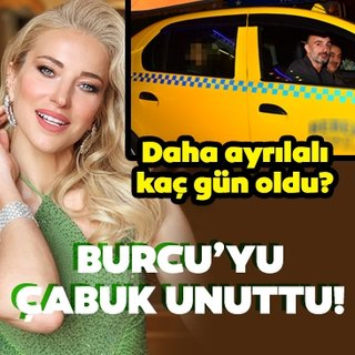 Berk Suyabatmaz kısa süre önce ayrıldığı eşi Burcu Esmersoy'u çabuk unuttu!