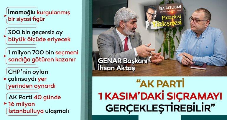 AK Parti 1 Kasım seçimlerindeki gibi büyük sıçrama gerçekleştirebilir