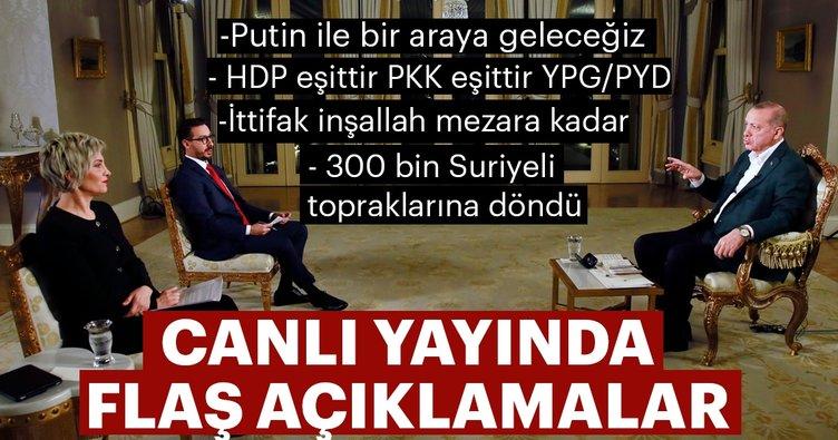 Cumhurbaşkanı Erdoğan: HDP eşittir PKK, eşittir YPG/PYD