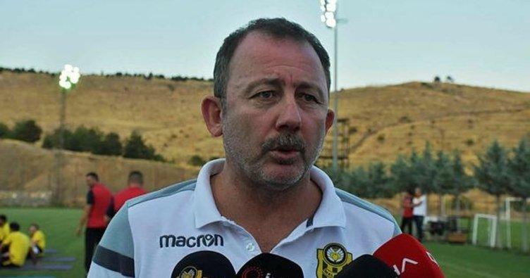 Sergen Yalçın: Takıma 2-3 futbolcu daha katacağız